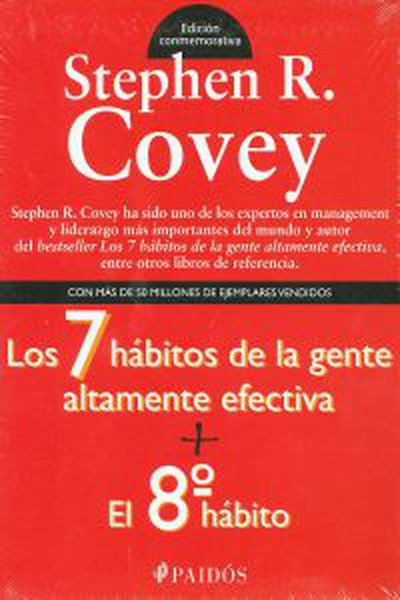 cubierta Pack conmemorativo stephen r. covey